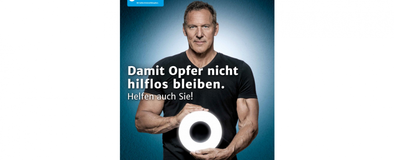 Ralf Moeller. Foto: WEISSER RING
